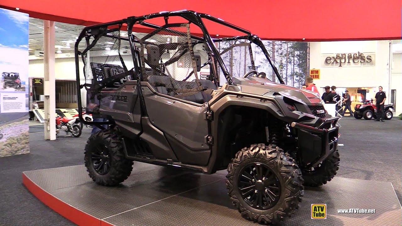 2016 Honda Pioneer 1000-5 Utility ATV - Walkaround - Debut ...
