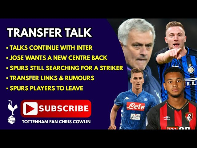 TRANSFER TALK: Milan Škriniar, Signing a Striker This Window, Players Leaving, What's Next for Jose