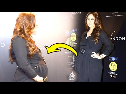 Pregnant Kareena Kapoor's Baby Bump Gets Bigger At Mami Film Festival Closing Ceremony
