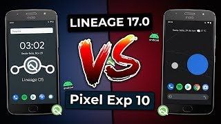 LINEAGE OS 17.0 VS PIXEL EXPERIENCE 10   Android 10.0 Q   ROM vs ROM