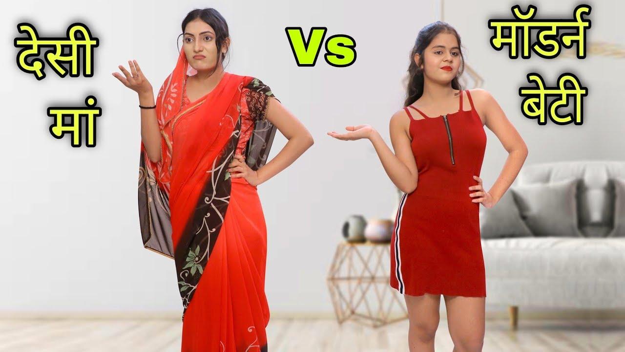 INDIAN MOM vs MODERN BETI | Hindi Moral Stories | Tushar Sonvane