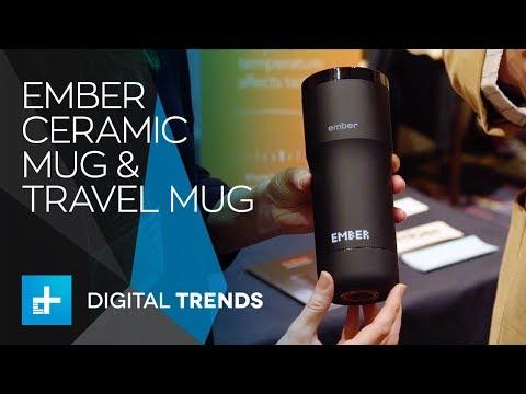 Ember Ceramic Mug & Travel Mug at CES 2018
