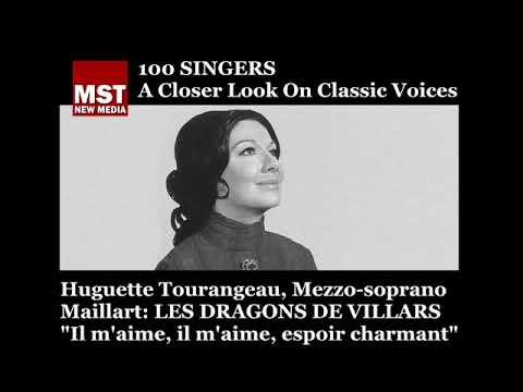100 Singers - HUGUETTE TOURANGEAU