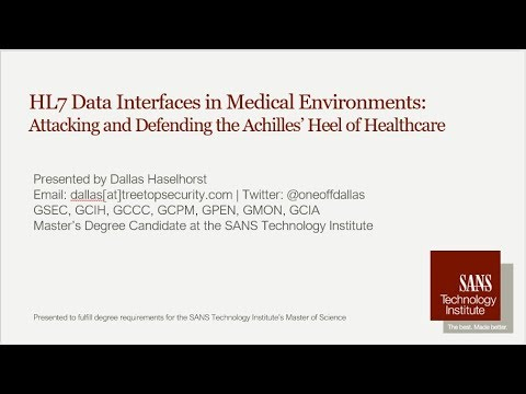 HL7 Data Interfaces in Medical Environments: Understanding the