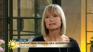 """CajsaStina Åkerström: """"Vispop med americana"""" - Nyhetsmorgon (TV4)"""