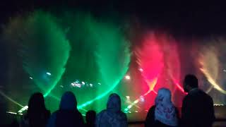 Fountain show in minar e pakistan 2018 best/Greater Iqbal Park