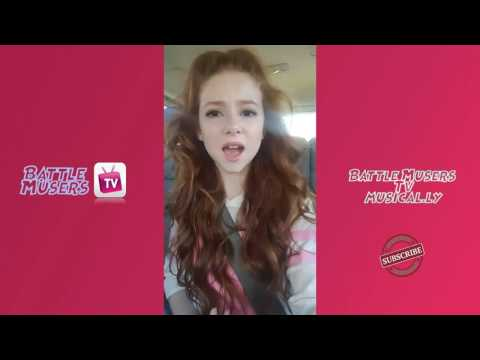 Francesca Capaldi ♥ Battle Musers Tv  New Musically  Videos  Musical.ly Compilation