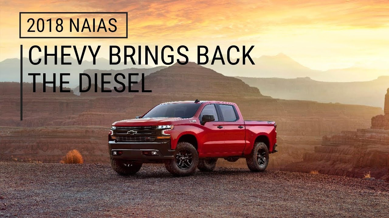 2019 Chevy Silverado 1500 | Chevy Brings Back the Diesel ...