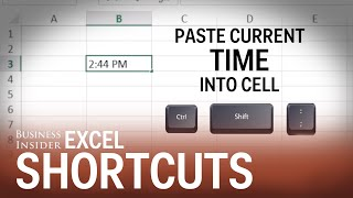 Lesser-Known Excel Shortcuts