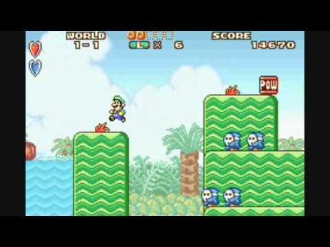 SNES vs. GBA: Super Mario Bros. 2 HD