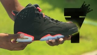Air Jordan VI 6 | Black Infrared 6 | Unboxing