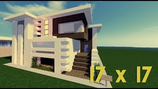 Minecraft Lüks Ev Yapımı - 17x17