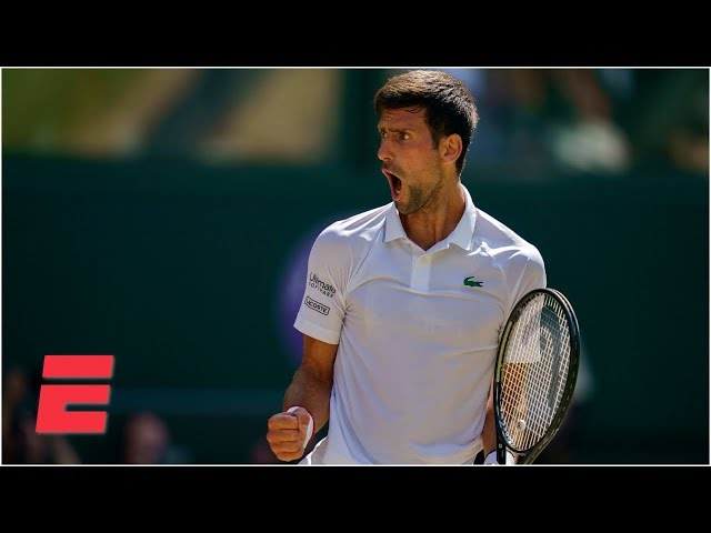 Novak Djokovic reaches final after 4-set win vs. Roberto Bautista Agut | 2019 Wimbledon Highlights