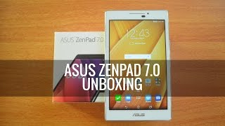 ASUS Zenpad 7.0 (Z370CG) Unboxing and Hands on