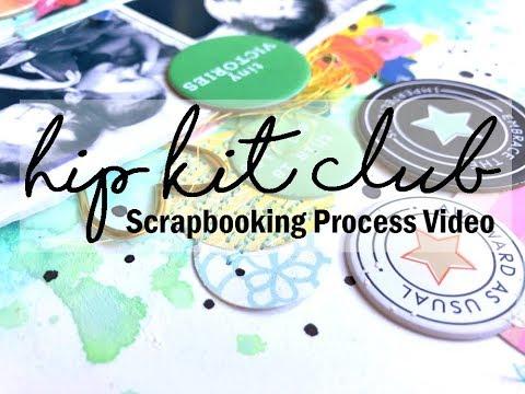 Scrapbooking Process #404 Hip Kit Club / Tiny Victories