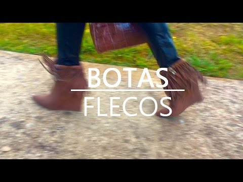 Como combinar tus botas de flecos