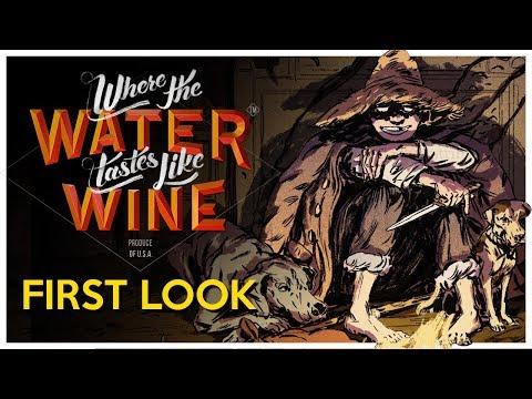 Where the Water Tastes Like Wine First Look - Stories of American Folklore [Gameplay/Let's Play]