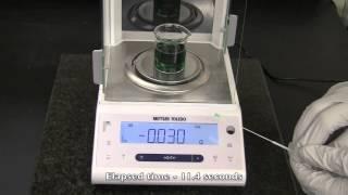 HydraFlock® Absorption & Elution Comparison 2