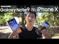 Note9 vs iPhone X: $1000 Showdown (Andro
