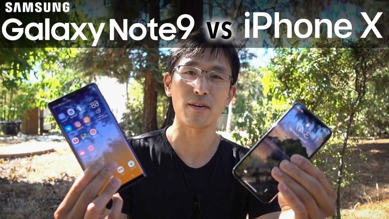 Note9 vs iPhone X: $1000 Showdown (Android vs iOS)