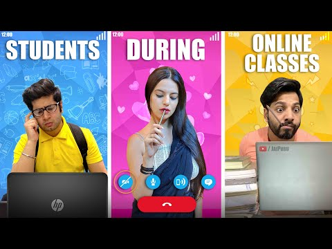Students During Online Classes || JaiPuru