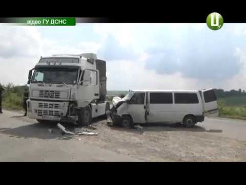 Поділля-центр: Четверо дітей та троє дорослих травмувались у ДТП у Красилівському районі