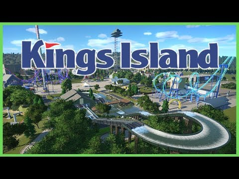 Kings Island Re-creation! Park Spotlight 90 #PlanetCoaster
