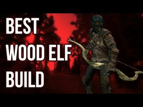 The Archer - Best Wood Elf Build - Skyrim Builds