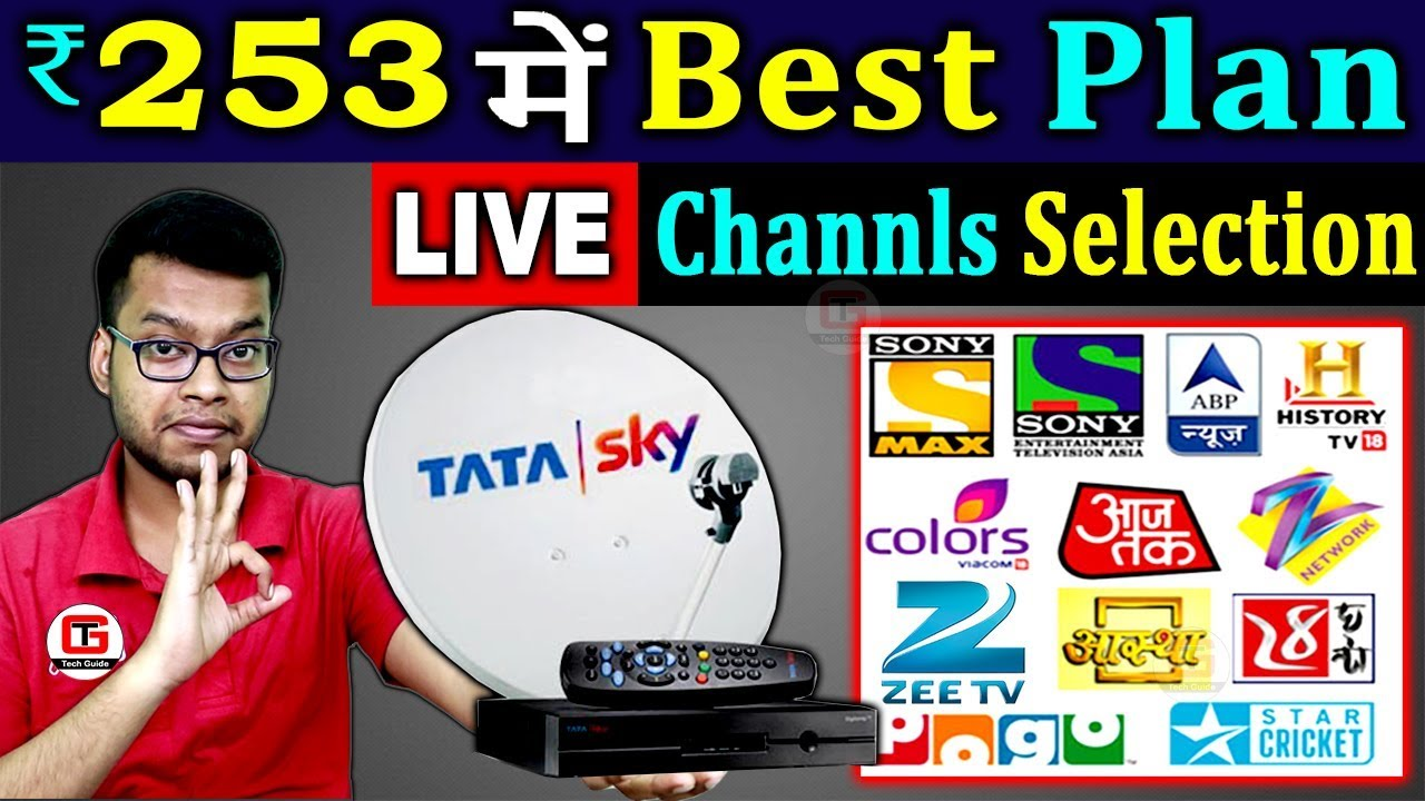 Tata Sky New Pack At 253 How To Make Tata Sky New Channel Pack As