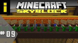 Minion Army! - SkyBlock Season 1 - EP09 (Minecraft)