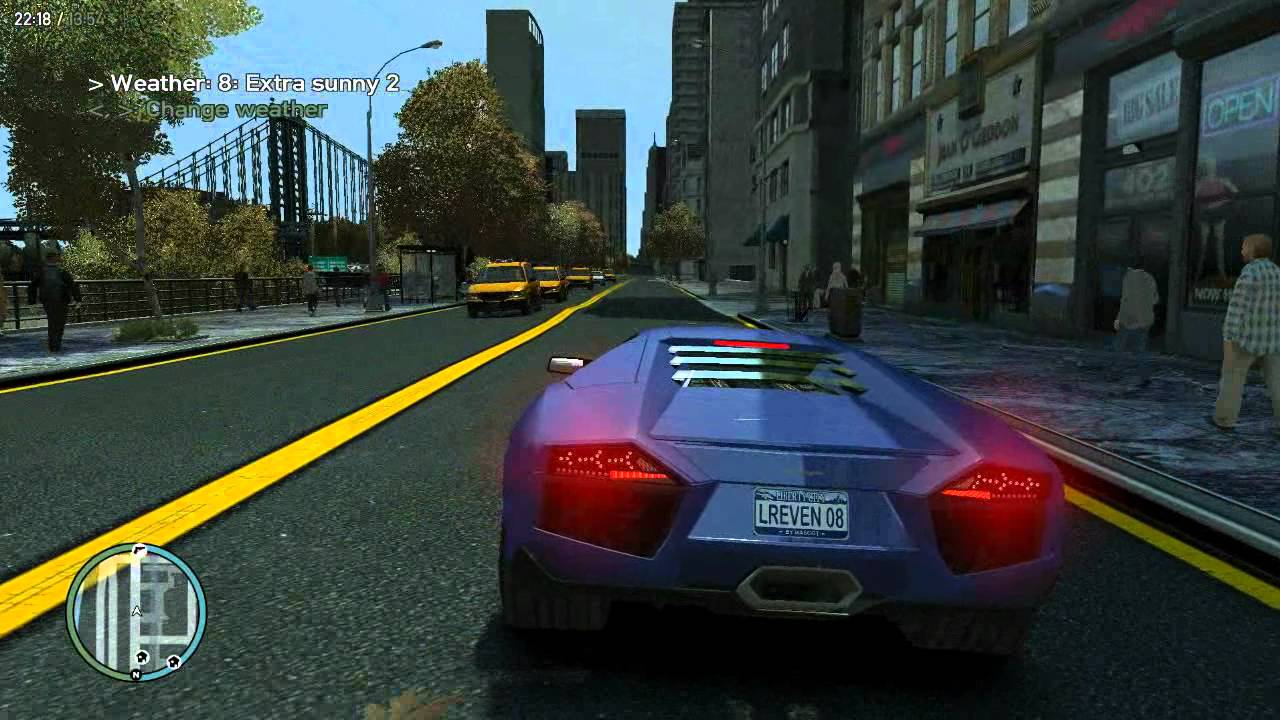 GTA IV - iCEnhancer 1 2 for Low-PC [HD]