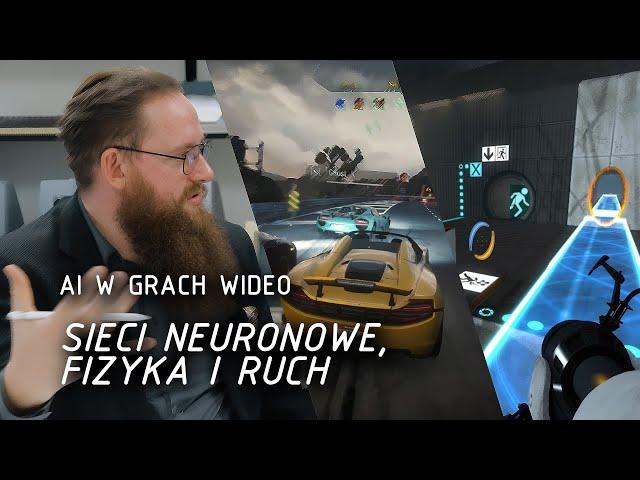 Sieci neuronowe, fizyka i ruch | AI w grach wideo 4/6