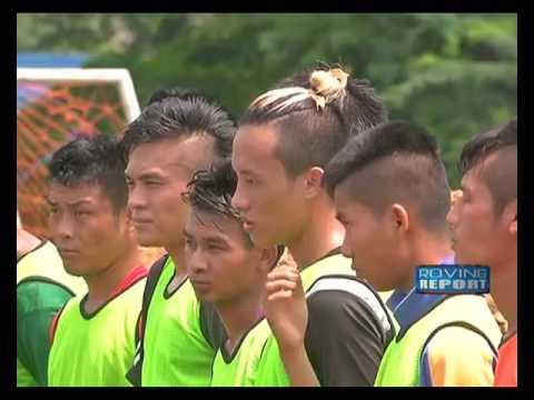 YOUNGSTERS FROM NORTHEAST REGION ARE GETTING SOCCER TRAINING IN NEW DELHI