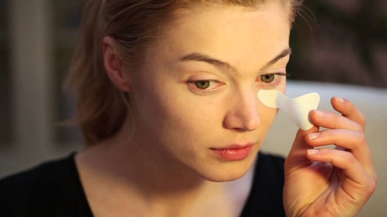 A quick fix for puffy, tired eyes