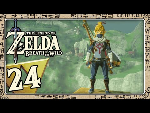 THE LEGEND OF ZELDA BREATH OF THE WILD Part 24: Hateno-Turm, Ninja-Set & Hylia-Set