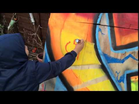 PEOPLE ARE AWESOME - 6 year old graffiti artist RzD - CiA
