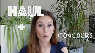 HAUL Mademoiselle BIO + CONCOURS