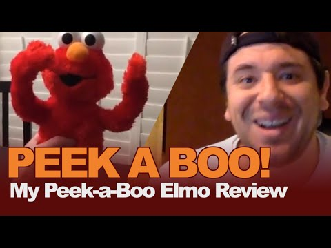 Review Sesame Street My Peek A Boo Elmo Toy By Hasbro Playskool