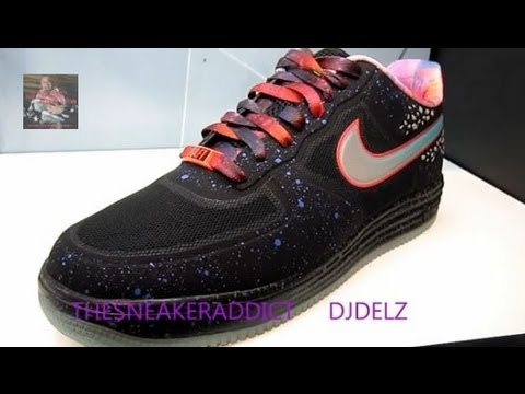 factory authentic bd6d2 ac4a4 Nike Air Lunar Force One Area 72 Allstar Ray Gun Sneaker Review W   DJDelz   HotOrNot - YouTube