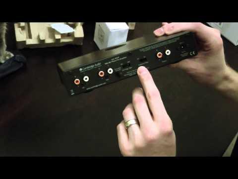 Cambridge Audio Azur 651p Phono Preamp Unboxing