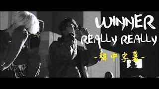 [MV韓中字] WINNER - REALLY REALLY