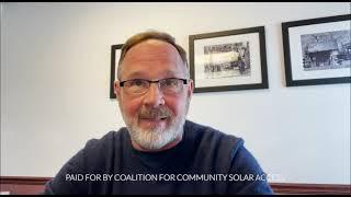 Video Series: Pennsylvanians Want Community Solar: Dennis Coons