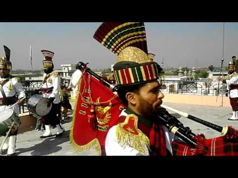 Lajwab fuji pipe band gujrat Punjab Pakistan