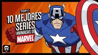 10 Mejores Series Animadas de Marvel | Top 10 #49 | LA ZONA CERO