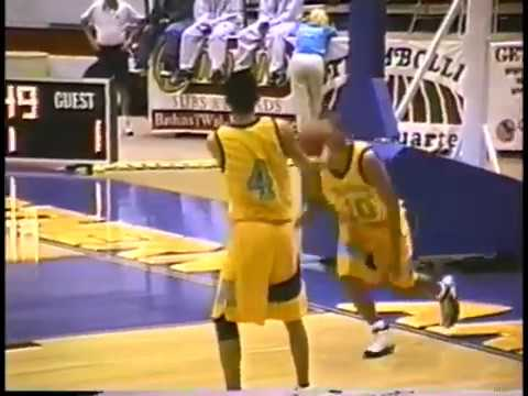 Alchesay High School 1998 Boys 3A Playoff Game - Round 1