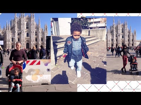 INTERRACIAL FAMILY VLOG: MILANO VLOG AND WHERE TO EAT IN MILANO