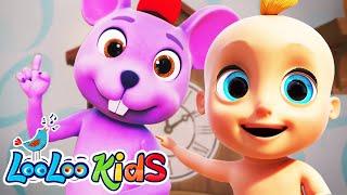 Hickory Dickory Dock - LooLoo Kids Nursery Rhymes for Kids