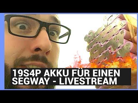 1# Livestream -19s4p Akku 18650 Zellen für einen Segway - battery spot welder - Ebikeundso