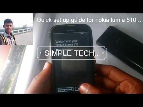 Nokia Lumia 510 Quick Set Up.........