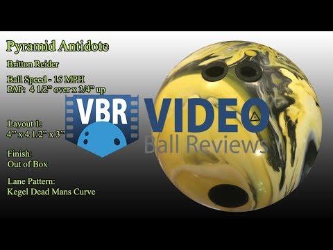 Pyramid Antidote Bowling Ball Reaction Video Ball Review {vs} Pyramid Force